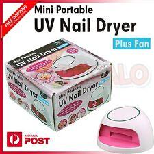 UV NAIL DRYER LAMP LIGHT FOR GEL POLISH CURING SALON ART NAILART PLUS FAN