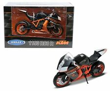 WELLY 1:10 MOTORCYCLE KTM 1190 RC8 Diecast Motorcycles