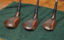 Spalding Top-Flite Power Weighted Reg T7543 Persimmon Woods:1,2,4 Rh 307
