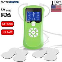 OSITO 2Channel Tens Massager Pulse Digital Machine Muscle Stimulator Full Body