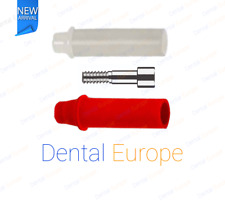 Dental Implant Plastic Abutment Hex 2.42 connection with screw for Dentist & Lab