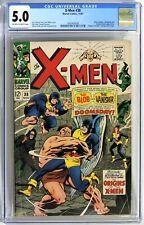 S109. X-MEN #38 Marvel CGC 5.0 VG/FN 1967 ORIGINS OF X-MEN Backup Stories Begins