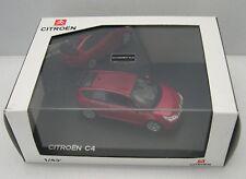 NOREV 1/43 : CITROEN C4  rouge avec boite emballage blanche