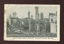 Herts Hertfordshire HAZELWOOD Abbots Langley after fire disaster PPC faults