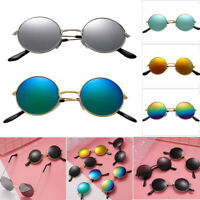 Streetwear Reflective Trend Eyewear Round Sun Glasses Children Sunglasses Retro
