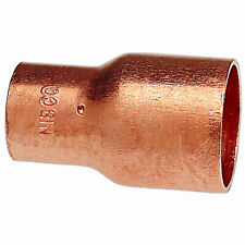 Copper Pipe Fitting, Reducer Coupling With Stop, 1-1/2 x 1-In. -W 61065
