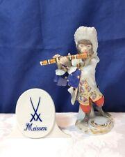 Meissen Porcelain Figurine Flautist Monkey Orchestra 60011/900300 Scimmia NEW