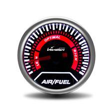 "Hiwowsport 2"" 52mm Air Fuel Gauge Ratio Universal White Digital Display LED 12V"
