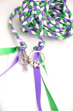 Celtic Cross & Claddagh Wedding Handfasting Cord #Handfasting #HandfastingCord