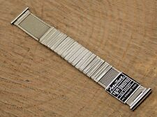 Vintage Komfit Nasa Style Forstner EXPANSION watch band 19mm 3/4 inch Unused