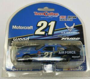 #21 R. Rudd 1/64 NASCAR Diecast Car _ 2003 MOTORCRAFT FORD TAURUS . US AIR FORCE