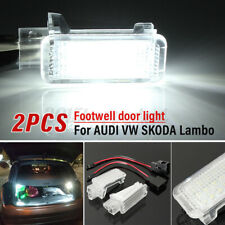 18 LED Courtesy Door Footwell Luggage Light for Audi A3 A4 Q7 RS4 Skoda Passat