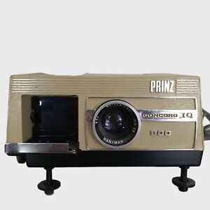 Prinz Concord IQ 800 35mm Carousel Slide Projector Good Working Order Vintage
