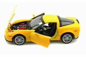 2007 CHEVY CORVETTE Z06 HARD TOP WELLY 22504WYL 1/24 scale DIECAST CAR