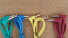 "1,Right Angle 1/4"" Pedal Guitar Pro Patch Cable 1m,EP3"