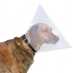Trixie Protective Dog Cat Cone Collar Elizabethan Transparent Vet Wound Healing