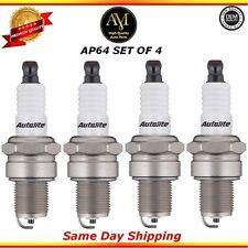 Platinum Spark Plugs AP64 Set of 4 For 92/04 Mitsubishi Chrysler Volvo 1.6L 2.4L