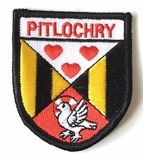Pitlochry Scotland Embroidered Patch (AO63B)