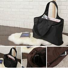 Women Black Large Hobo Bags Shoulder Bag Handbag Purse Tote Shopper Bag Fashion