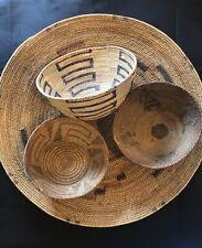 Antique Basket Collector Native Pima African