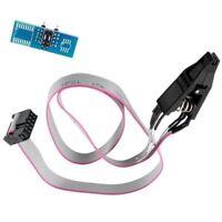 SOIC8 SOP8 Flash Chip IC Test Clips Socket Adapter Programmer BIOS/24/25/93 C8U5