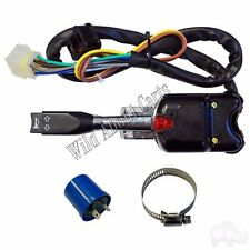 Golf Cart RHOX Turn Signal Switch with Horn, 7 Wire