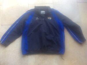 "Men's XXL 2XL 46"" Chest Leeds Tykes KUKRI Rugby Union Jacket Coat Wincheater"