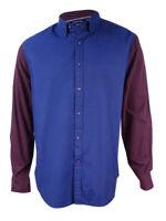 Nautica Men's Slim-Fit Helmsman Colorblocked Shirt