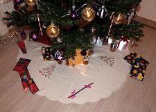 Weihnachtsbaumdecke Tannenbaumunterlage Christbaumdecke Christbaumunterlage