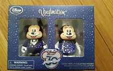 Disney Store 30th Anniversary Vinylmation Mickey and Minnie Set NIB Limited Ed.