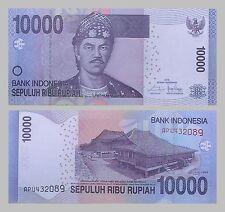 Indonesien / Indonesia 10000 Rupiah 2016 p150h unz.
