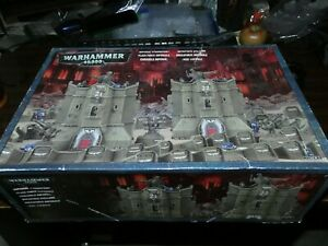 Warhammer 40k: Imperial Strongpoint box set: on Sprues - incomplete