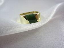 Ring aus Gold 585 mit Jade