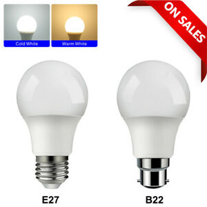 1-10 Pack LED 100W Bulb B22 Bayonet GLS Lamp Light Bulbs Cool White Warm White