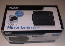 Vivitar Series 1 Lens 500mm f/ 8.0 MF - NEW IN BOX