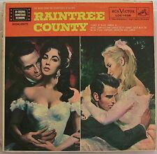 ELIZABETH TAYLOR, MONTY CLIFT,EVA M.SAINT,LEE MARVIN,5 LP SET; RAINTREE COUNTY