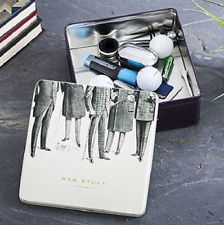Mens Emporium Man Stuff Tin Fathers Day Gift Metal Storage Box Item Tub Present