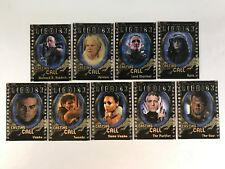 The Chronicles Of Riddick 2004 Complete Casting Call Chase Card Set (Cc1-Cc9)
