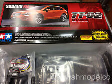 Tamiya 58567 RC 1/10 Subaru XV - TT02 SD 4WD Shaft Drive On Road