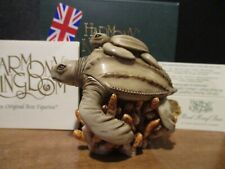 Harmony Kingdom Red Reef Inn V1 Leatherback Turtles Uk Made Box Figurine