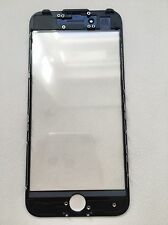 iPhone 7 VERRE / vitre inclus oca + Cadre / presse froide Cadre Noir