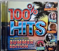 100% Hits - The Best of 2012: Summer Edition CD Various Rock Pop Australia