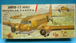 AIRFIX 483 1/72 WWII USAF DOUGLAS DAKOTA 2nd Edition 1967 CLASSIC MODEL KIT MIB