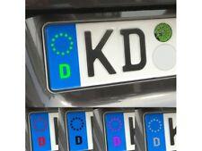 Kennzeichen Nummernschild Symbol Aufkleber EU Feld // Sticker JDM Aufkleber Fron