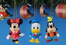 CHRISTBAUMSCHMUCK Deko Disney Minnie Mouse Goofy Donald Haus Dekor Ornament BCD