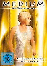4 DVDs *  MEDIUM - SEASON / STAFFEL 4 - MB  # NEU OVP =