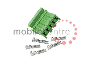 Land Rover YPC10526 Green 5 way switch connector housing & terminals Defender