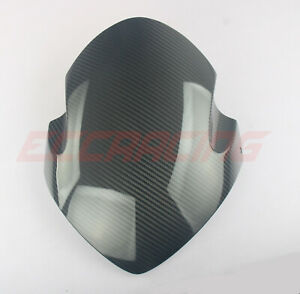 Buell 1125R TWILL Carbon fiber Windshield Plain Glossy