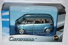 Cararama  VW VOLKSWAGEN MICROBUS 2001 (Blue) 1:43