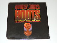 QUINCY JONES roots the saga of an american family Lp RECORD SEALED